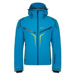 Kilpi Turnau-M modrá pánská nepromokavá zimní lyžařská bunda1