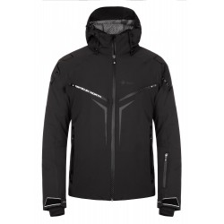 Kilpi Turnau-M černá 2019 pánská nepromokavá zimní lyžařská bunda