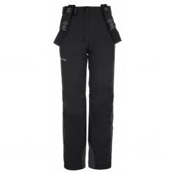 Kilpi Europa-JG černá dětské nepromokavé zimní lyžařské kalhoty