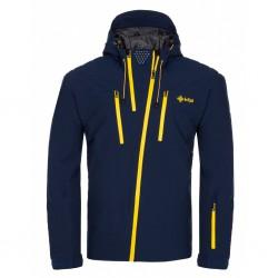 Kilpi Thal-M tmavě modrá pánská nepromokavá zimní lyžařská bunda1