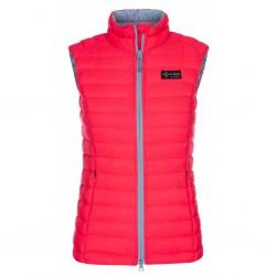 Kilpi Kenai-W růžová dámská péřová vesta