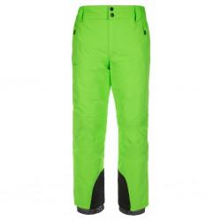 Kilpi Gabone-M zelená pánské zimní lyžařské kalhoty