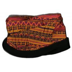 Novia multifunkční šátek fleece 09 oranžový