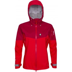 High Point Explosion Lady Jacket 5.0 red/red dahlia dámská nepromokavá bunda BlocVent