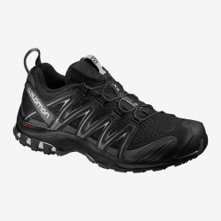 Salomon XA Pro 3D black/magnet/quiet shade 392514 pánské prodyšné běžecké boty