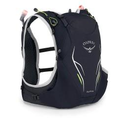 Osprey Duro 6l M/L běžecká vesta / batoh + 2 měkké lahve 500 ml černá