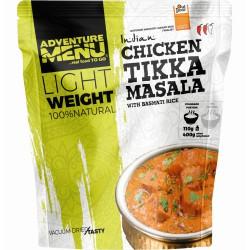 Adventure Menu Lightweight Kuře Tikka Masala s rýží basmati 1 porce 400 g sušené jídlo