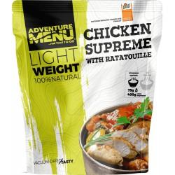 Adventure Menu Lightweight Kuřecí supreme s ratatouille 1 porce 400 g sušené jídlo