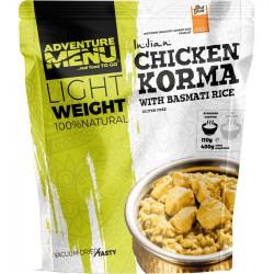 Adventure Menu Lightweight Kuře Korma s rýží basmati 1 porce 400 g sušené jídlo