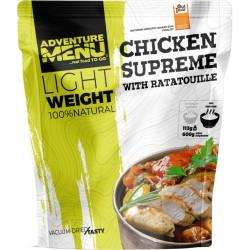Adventure Menu Lightweight Kuřecí supreme s ratatouille velká porce 600 g sušené jídlo