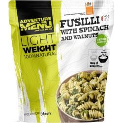 Adventure Menu Lightweight Fusilli se špenátem a vlašskými ořechy 600 g sušené jídlo vegan