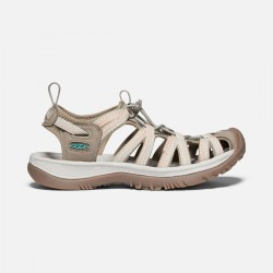 Keen Whisper W dark taupe/coral