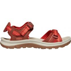 Keen Terradora II open toe sandal W 1022447  darkred/coral