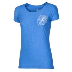 Progress Pacifica modrý melír dámské triko krátký rukáv