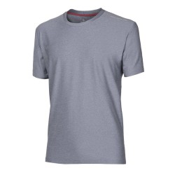 Progress Primitiv šedý melír pánské triko krátký rukáv
