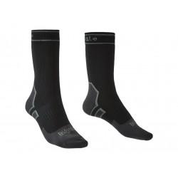 Bridgedale Storm Sock LW Boot black nepromokavé ponožky Merino unisex