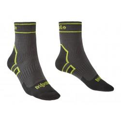 Bridgedale Storm Sock LW Ankle dark grey nepromokavé ponožky Merino unisex