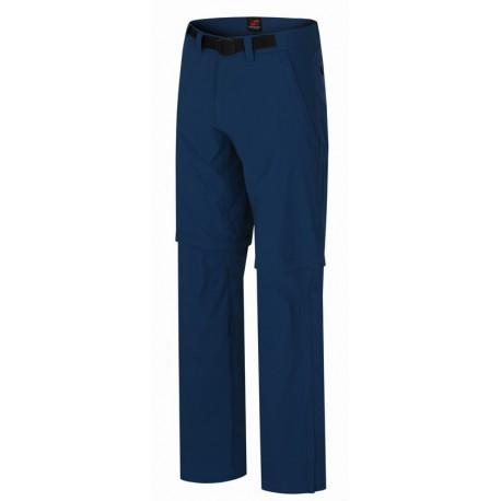 Hannah Roland moroccan blue pánské odepínací turistické kalhoty