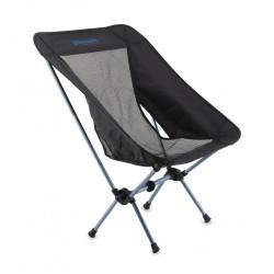 Pinguin Pocket Chair black/blue kempingová židle