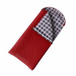 Husky Kids Galy -5°C červený dětský dekový spací pytel flanel