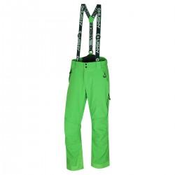 Husky Galti M sv. zelená pánské nepromokavé zimní lyžařské kalhoty