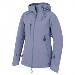 Husky Gombi L modrofialová dámská nepromokavá zimní lyžařská bunda