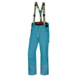 Husky Mitaly M modrá pánské nepromokavé zimní lyžařské kalhoty HuskyTech 20000