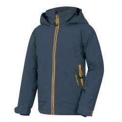 Husky Zengl Junior antracit dětská nepromokavá zimní lyžařská bunda 15000