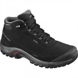 Salomon Shelter CS WP black/ebony black 411104 pánské zimní nepromokavé boty