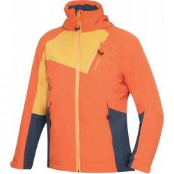 Husky Zawi Junior tlumená oranžová dětská nepromokavá zimní lyžařská bunda 15000