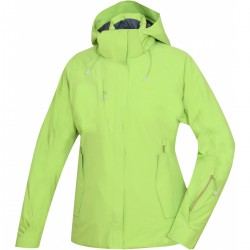 Husky Gopa L zelená dámská nepromokavá zimní lyžařská bunda HuskyTechStretch 15000
