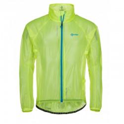 Kilpi Rainar-M žlutá pánská lehká voděodolná cyklistická bunda 10000