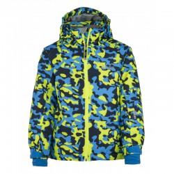 Kilpi Benny-JB žlutá dětská juniorská nepromokavá zimní lyžařská bunda