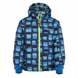 Kilpi Benny-JB tmavě modrá dětská juniorská nepromokavá zimní lyžařská bunda