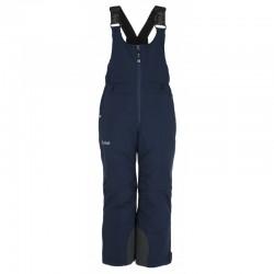 Kilpi Charlie-JB tmavě modrá dětské nepromokavé zimní lyžařské kalhoty s laclem 10000
