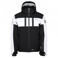 Kilpi Falcon-M černá pánská nepromokavá zimní lyžařská bunda 10000