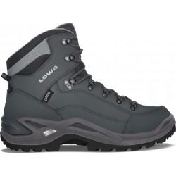 Lowa Renegade GTX Mid graphite/light gray pánské nepromokavé kožené trekové boty