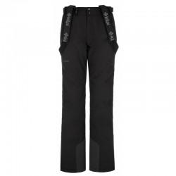 Kilpi Elare-W černá dámské nepromokavé zimní lyžařské kalhoty 10000
