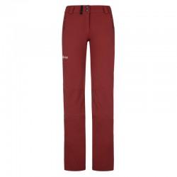 Kilpi Lago-W tmavě červená dámské turistické kalhoty
