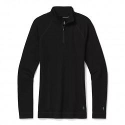 Smartwool W Merino 250 Baselayer 1/4 Zip black dámský rolák 100% Merino vlna
