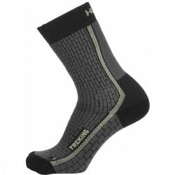 Husky Treking New antracit/sv. zelená trekové ponožky Thermocool