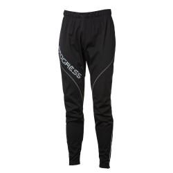 Progress Primer černá pánské zimní elastické kalhoty
