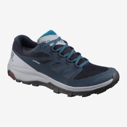 Salomon OUTline GTX navy blazer/quarry/lyons blue 407970 pánské nízké nepromokavé boty