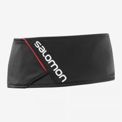 Salomon RS Headband black/white 394937 unisex prodyšná běžecká čelenka
