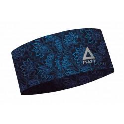 Matt Thermo Headband Floral 5897-956 široká zimní čelenka Coolmax all season