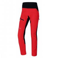 Husky Kix L neonově růžová dámské outdoorové zateplené kalhoty na běh,kolo,běžky 10000