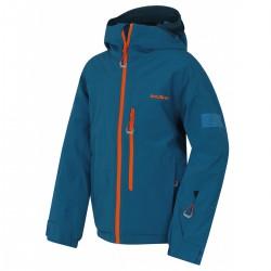 Husky Gomez K modrá dětská nepromokavá zimní lyžařská bunda HuskyTechStretch 15000