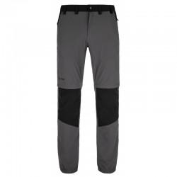 Kilpi Hosio-M tmavě šedá pánské odepínací turistické kalhoty