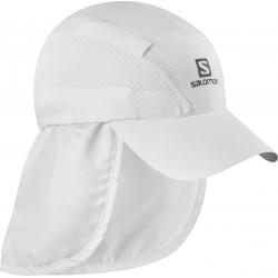 Salomon XA+ Cap white C14683 kšiltovka s odepínacím panelem chránícím krk