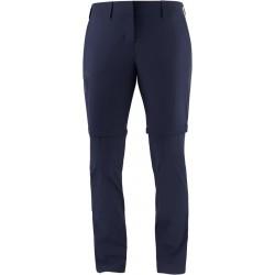 Salomon Wayfarer Zip Off Pants W night sky C14900 dámské odepínací turistické kalhoty